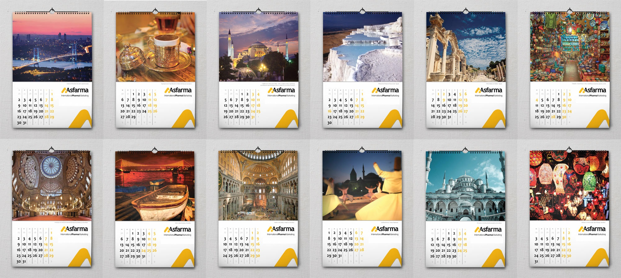 Темы для календаря с