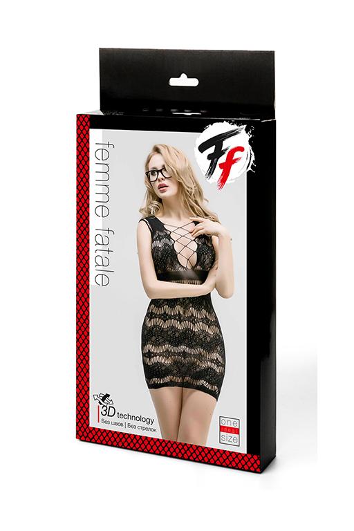 Сетчатое платье с корсетной шнуровкой