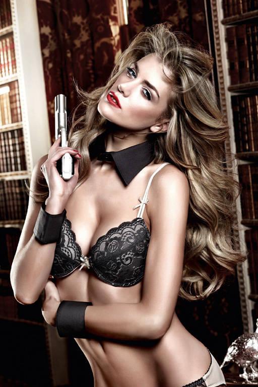 Accessoires Воротничок с манжетками черный
