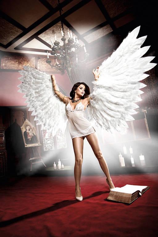 Back in Heaven Платьице белое из тюлевой ткани с нежными узорами и кружевным бюстье