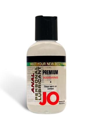 Анальный согревающий любрикант обезболивающий на силиконовой основе JO Anal Premium Warming. (60 мл)