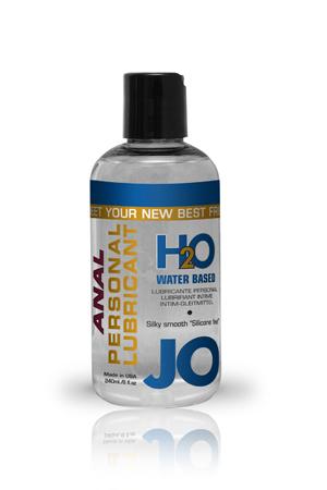 Анальный любрикант на водной основе JO Anal H2O, 8 oz (240 мл)