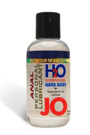 Анальный согревающий любрикант обезболивающий на водной основе JO Anal H2O Warming, (120 мл)