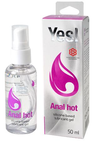 Гель-смазка силиконовый Yes - Anal hot, 50 мл