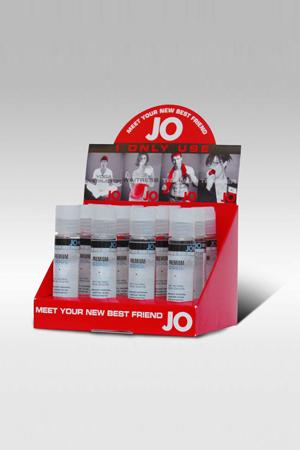 Набор силиконовых охлаждающих любрикантов JO Premium COOL12х30мл в боксе