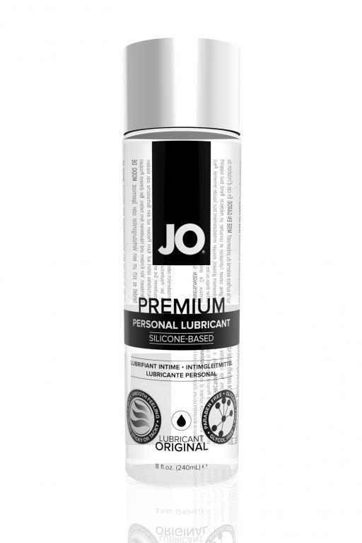 Нейтральный любрикант на силиконовой основе JO Personal Premium Lubricant, 8 oz (240 мл)