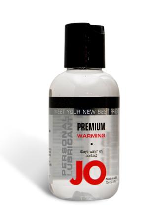 Возбуждающий любрикант на силиконовой основе JO Personal Premium Lubricant  Warming, 2 oz (60мл.)