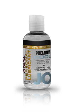 Анальный охлаждающий любрикант обезболивающий на силиконовой основе JO Anal Premium COOL, (120 мл)
