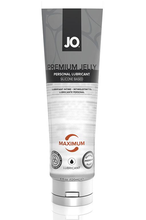 Персональный любрикант на силиконовой основе JO PREMIUM JELLY - MAXIMUM 120 мл