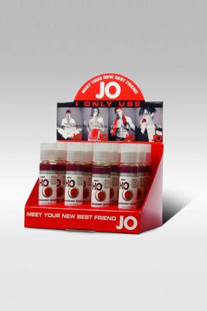 Ароматизированный любрикант JO Flavored Raspberry Sorbet 1oz