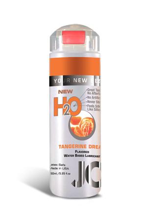 Ароматизированный любрикант на водной основе JO Flavored Tangerine Dream , 5.25 oz (150 мл)