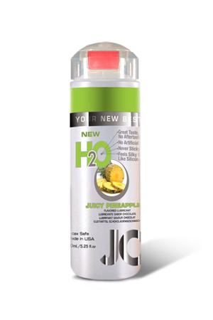 Ароматизированный любрикант на водной основе JO Flavored Juicy Pineapple , 5.25 oz (150 мл)