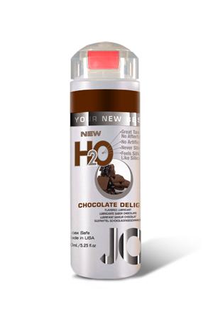 Ароматизированный любрикант на водной основе JO Flavored Chocolate Delight , 4 oz (120мл.)