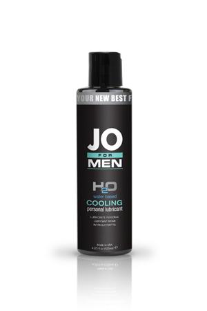 Мужской охлаждающий любрикант на водной основе JO for Men H2o Cooling 125 мл.