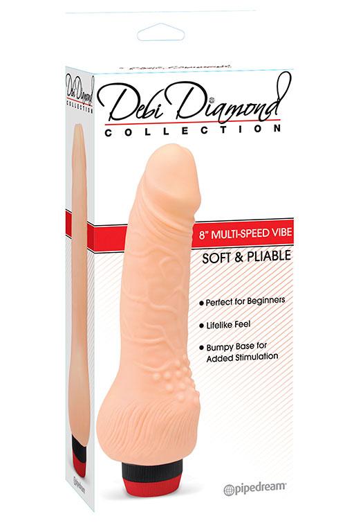 Фаллоимитатор Debi Diamond Collection 3