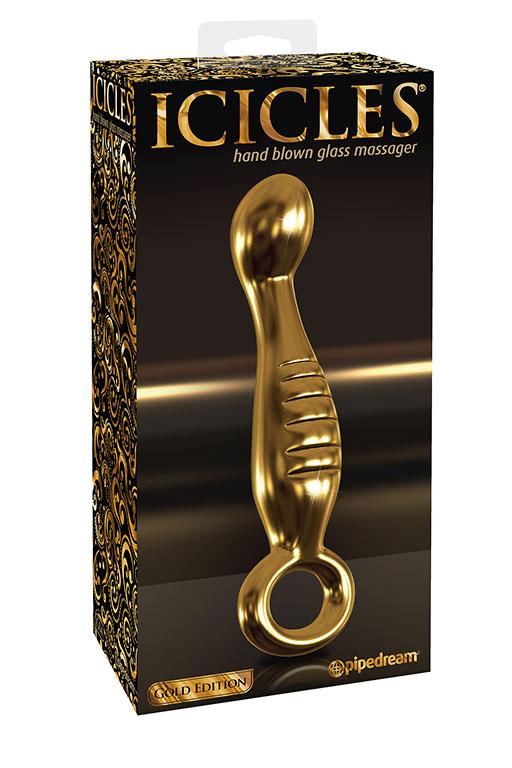 Анальный стимулятор Icicles Gold Edition G04 - Gold