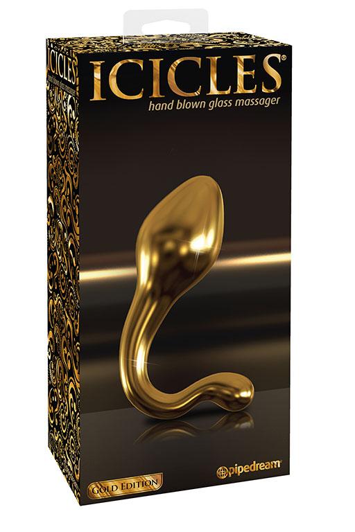 Анальный стимулятор Icicles Gold Edition G11 - Gold
