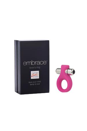 Вибро-насадка EMBRACE LOVERS RING розовая
