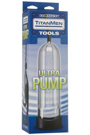 Вакуумная помпа Titanmen Tools - Ultra Pump - Clear прозрачная