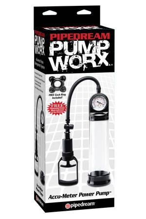 Помпа мужская Accu-Meter Power Pump черная