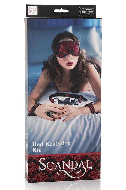 Комплект интимный SCANDAL BED RESTRAINT KIT